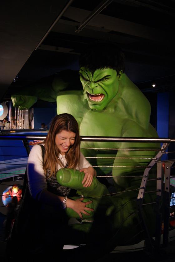 hulk só faz cosquinha